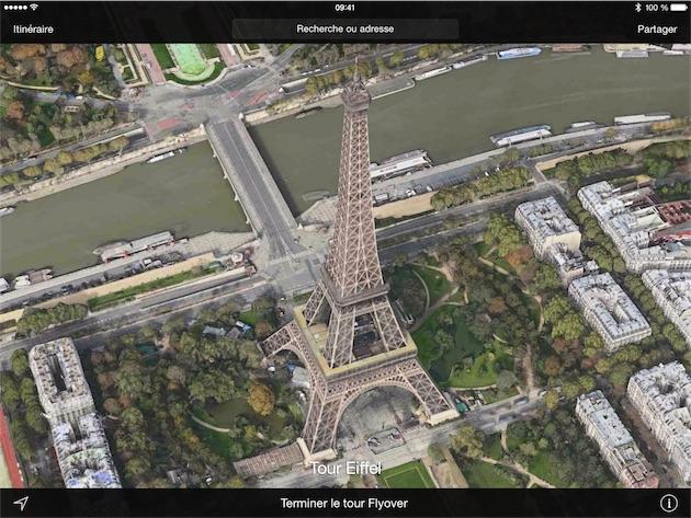 Visite en cours de Paris