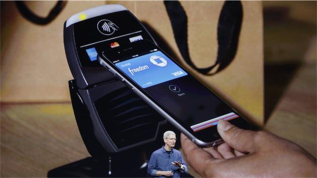Apple Pay, lors de sa présentation, en septembre 2014